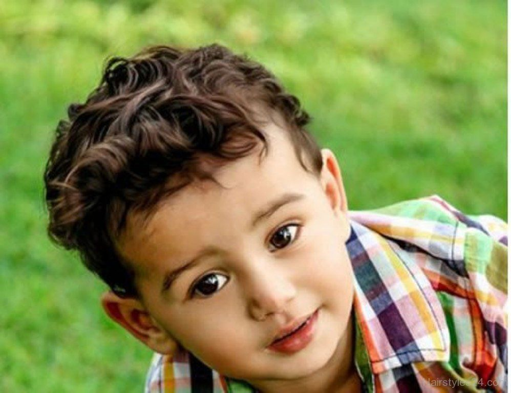 Curly Hairstyle For Baby Boy