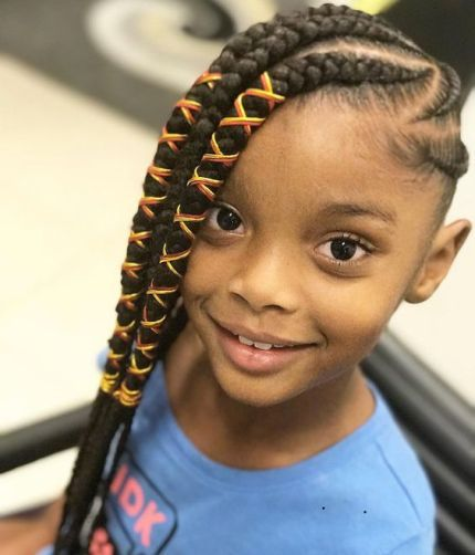 Cute Braided Hairstyles For Black Girls 2018