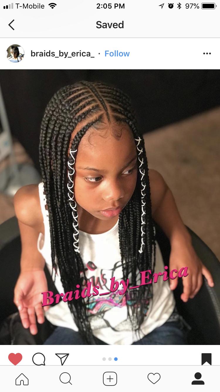 Cute Braided Hairstyles For Black Girls Kids