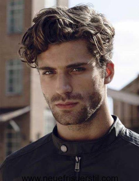 Curly Hair Medium Length Hairstyle For Men 2018