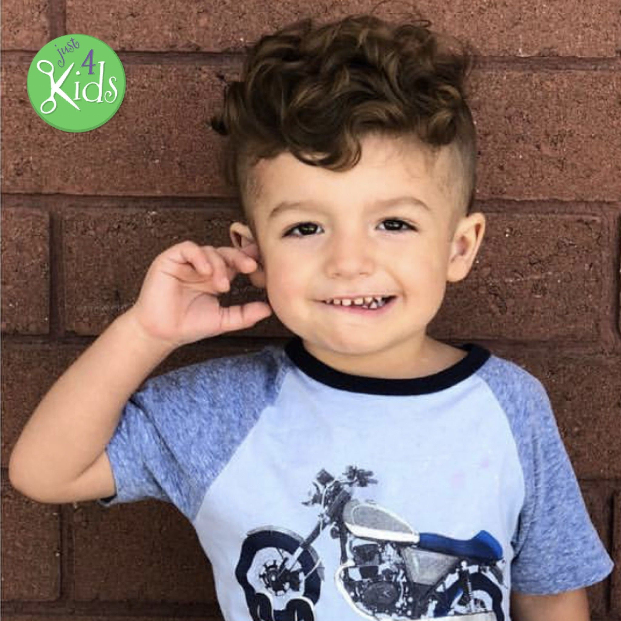 Curly Hairstyle Toddler Boy